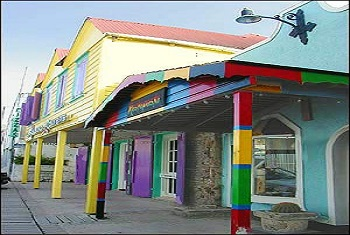 Colorful Buildings in St. Johns Antigua