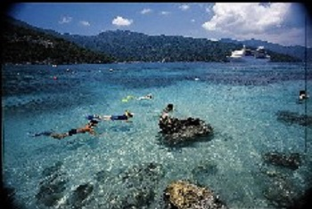 Snorkeling in Labadee Haiti Royal Caribbean's Private Resort