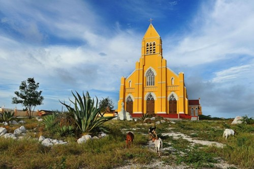 Architecture Church in Curacao