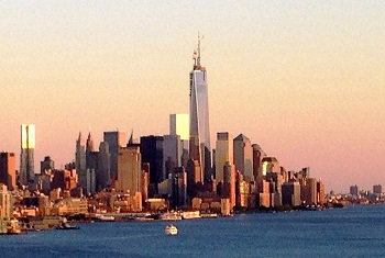 Lower Manhattan including the Freedom Tower