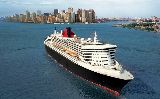 Where is Cunard Line's Queen Mary 2